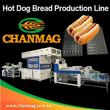 狗麵包生產線Hot Dog Bread Production Line