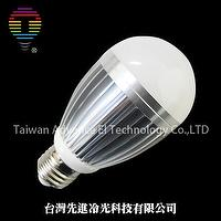COB LED Dimmable Alumium Alloy Bulb -Red/Blue