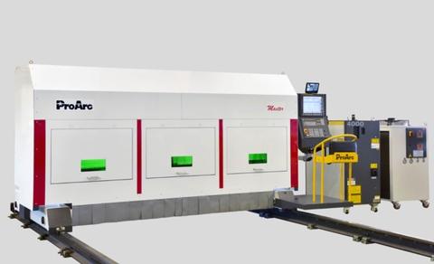 ProArc Master Fiber Laser Cutting Machine