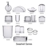 Acrylic Seashell Facial Tissue Holder, bathware, bathroom accessories, bath set