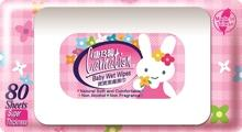 Carnation Wet Wipes 80 Sheets (Rabbit) With Cap