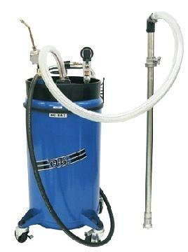 PRESSURE FLUID DISPENSER WITH FLUID IN FUNCTION