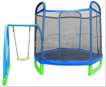 Taiwan Trampolines Wholesale Jump N Swing Hexagon