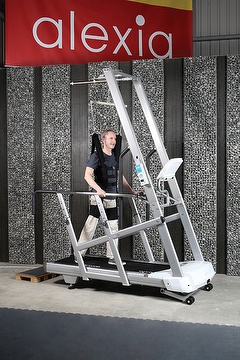 Safe Walker with Suspension system, treadmill for senior people