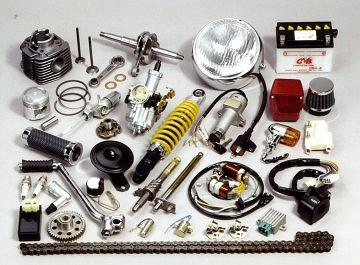 MOTORCYCLE ENGINE & ELECTRICAL PARTS