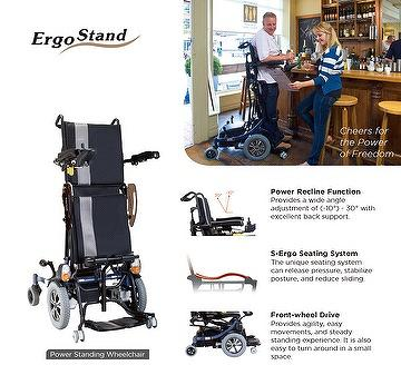 Ergo Stand   Power Standing Wheelchair