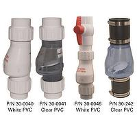 Check Valve/PVC Solvent Weld with Union Check Valve