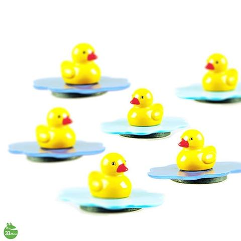 YELLOW DUCK CHARACTER MAGNETS RANDOM COLOR DELIVERY