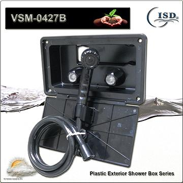 Taiwan Rv Exterior Shower Box Kit Includes Shower Faucet Shower Sprayer With On Off Function And