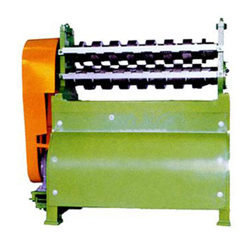 Stationary rubber string cutting machine