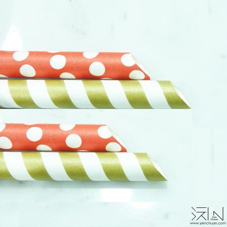 Paper straw(Sharp edge/Flat)