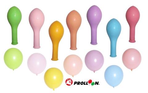 """10 """"بالونات هيليوم عالية الجودة: 2.4 جرام ألوان معكرون"""