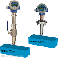FMG-J Insertion magnetic Flow Meter, measurement analysis instrument flow meter,