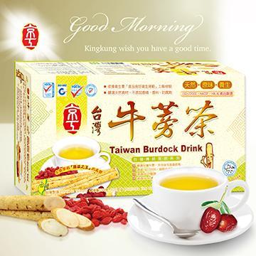 【King Kung】Taiwan Burdock Drink (10g x 30 packs)