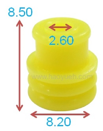 963245-1 (HY1248), Wire Seals , Yellow, TE/TYCO.