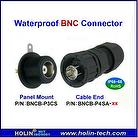 Waterproof RF-BNC Connector used for CCTV Coaxial Cable