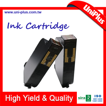 Cartucho de tinta HP 45 usado para impressão de cheques