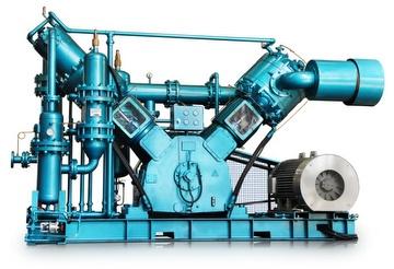 VFW High-pressure Oil-free Reciprocating Air Compressor