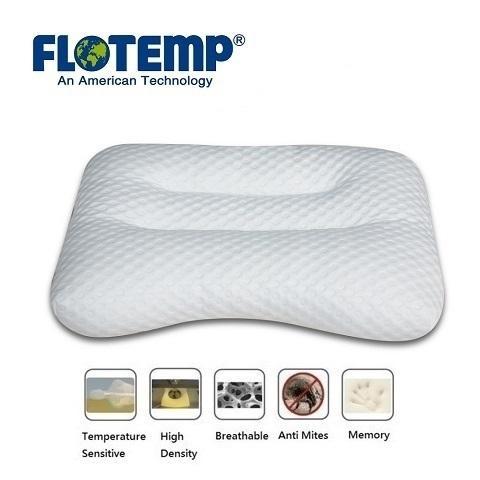 Side Sleeping Pillow: Exclusive USA foam formula.