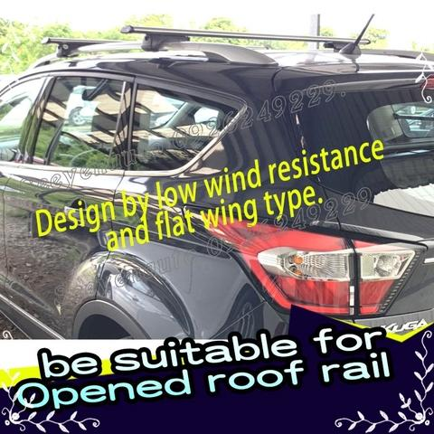 Universal Aluminum Clamp-Style Roof Rack Bar DW-01