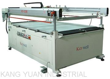 Semi-auto Four Post Large Glass Screen Printing Machine