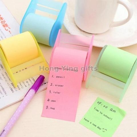 Easy use past paper note memo pad sticky roll tape