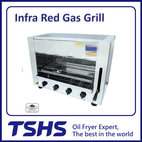 Best Quality Convenient Seafood Natural Gas Grill Kitchen Machine