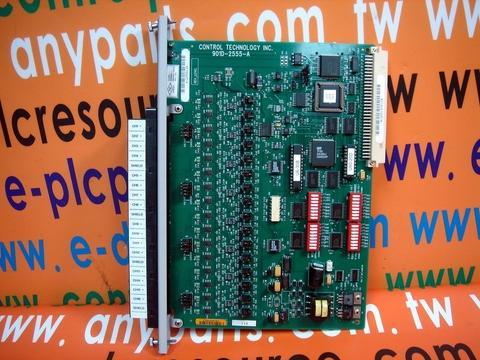 Texas Instruments PLC TI 505-2555 16 PT ANALOG INPUT MODULE CTI 901D-2555-A