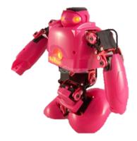 BeRobot transforme 15DOF_Pink