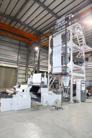 3 layer cpp/cpe casting film line