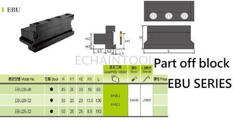 EBU part off block