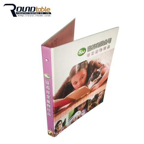 Environmentally friendly high quality plastic folder for daily