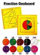 FRACTION GEOBOARD BOX