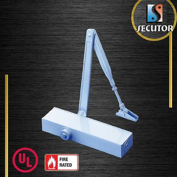 Taiwan ul 1 hour fire rated hydraulic aluminum door closer for 1 5 hr fire rated door
