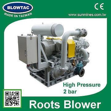 MRT-050 BLOWTAC AC 3 PHASE blower machinery
