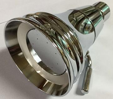 Classic solid brass shower head