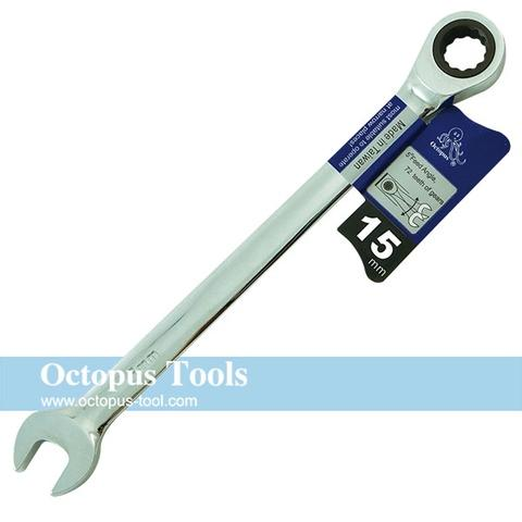 Combination Ratcheting Wrench 15mm