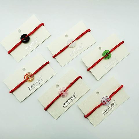 Diffuser Donut Bracelet Colors Option Red Cord Chain