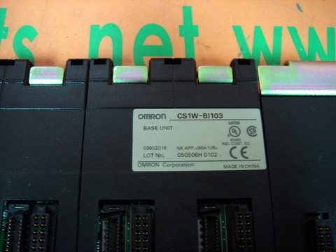 OMRON CS1W-BI103 BASE UNIT