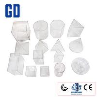 Toys 15 shape geo solids set 10cm