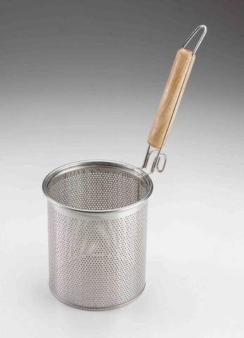 Elongated Noodle Boiling Strainer with a Handle