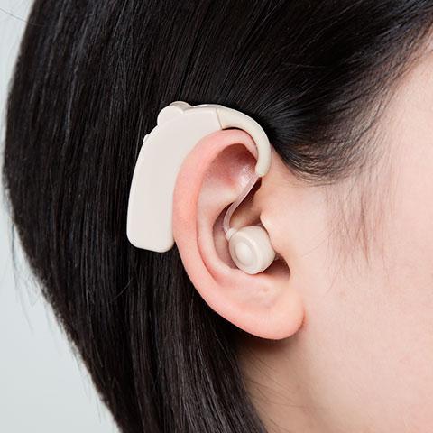 Mimitakara Rechargeable BTE Hearing Aid (UP-6EKX)