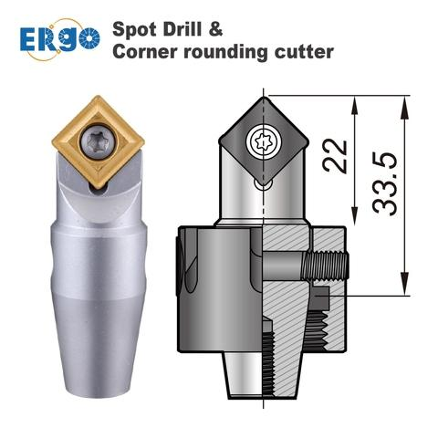 Specifications of Nine9 ER16 spot drill