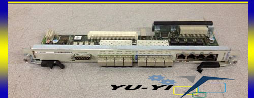 Radisys ATCA-5010 Network Shelf Card Module 8-GBiC Ports 4-Ethernet RJ45 Ports