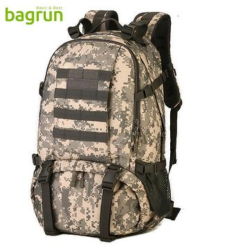 f78183bcddbd 40L Tactical Military Backpack Assault Rucksack Waterproof Bag Pack for  Hunting Camping Trekking Cycling