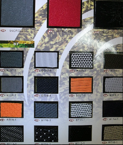Colors and Finish,textile leather other synthetic leather,