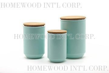 light blue kitchen canisters - democraciaejustica