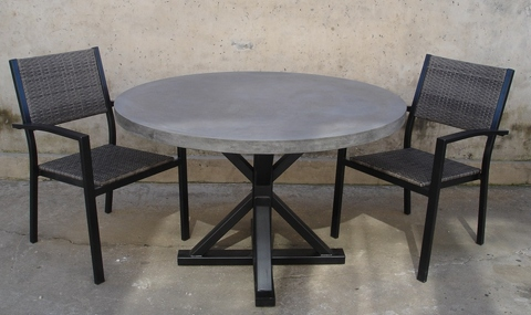Fabulous Outdoor Furniture Dining Table Cement Table Taiwantrade Com Uwap Interior Chair Design Uwaporg