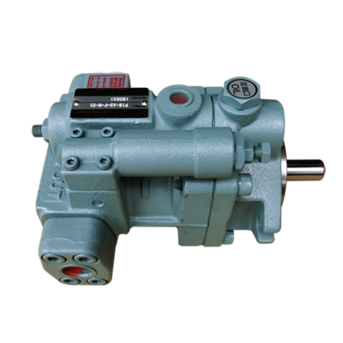 Stain-Resistant Piston Pump with Pressure Compensator