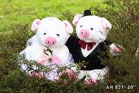Stuffed Animals - A Couple of Pigs